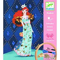 Художественный комплект вышивка Коктельная мода, Djeco