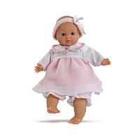 Кукла Paola Reina  Девочка с мягким телом в розовом