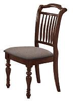 Стул деревянный с мягким сиденьем Палермо, ткань Неаполь, каркас орех итальянский