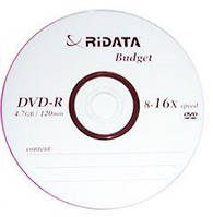 Компакт-диск Ridata DVD-R 4,7Gb 8-16x, фото 1