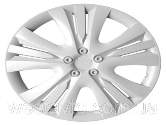 Колпак колесный R13 LUX белый
