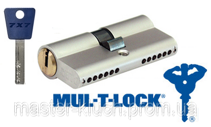 Личинка  замка MUL-T-LOCK 7х7 115 мм