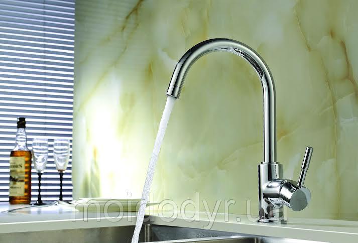 Смеситель кухонный Blue Water  Colorado (хром)