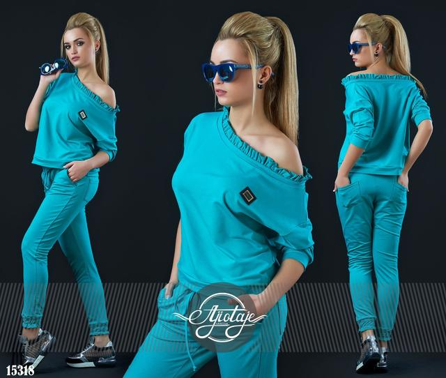 Модные спортивные и стильные костюмы норма-42-48р