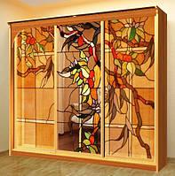 Витраж раздвижная система, стеклянная мебель и со стеклянными фасадами