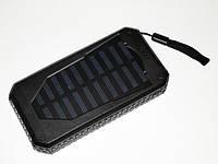 Power Bank UKC 25800 mAh на солнечных батареях 2 USB