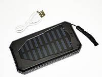 Повер банк Power Bank UKC 25800 mAh на солнечных батареях 2 USB, фото 6