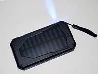 Повер банк Power Bank UKC 25800 mAh на солнечных батареях 2 USB, фото 8