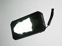 Повер банк Power Bank UKC 25800 mAh на солнечных батареях 2 USB, фото 7