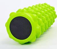 Роллер массажный для йоги EVA GRID Roller салатовый 5714-3