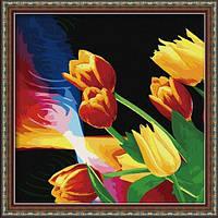 Картины по номерам Тюльпаны.