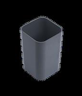 Стакан для ручек Подставка-стаканчик пластиковая для ручек Арника 8167 (81670(серая) x 96520)