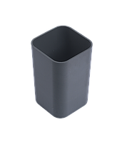 Стакан для ручек Подставка-стаканчик пластиковая для ручек Арника 8167 (81671(черная) x 96521)