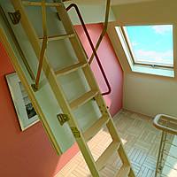 Лестницы и стремянки FAKRO Чердачная лестница  FAKRO LTK Thermo 60x120 см