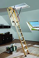 Лестницы и стремянки FAKRO Чердачная лестница  FAKRO LWK Komfort 70x130 см