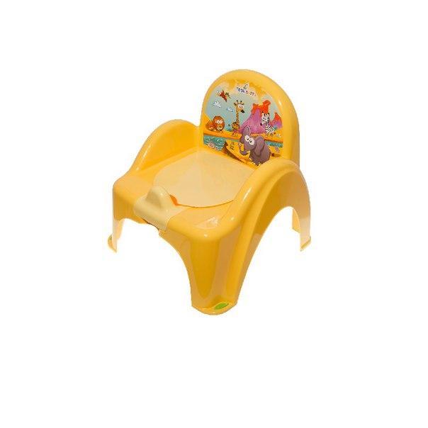 Горшок-кресло Tega Safari SF-010  желтый