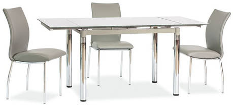 Стол стеклянный GD 018 раскладной 110(170)x75 (Signal), фото 2