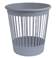Корзина офисная для бумаг 10л., Арника пластик Buromax 8206 (82067(коричневая) x 96543)