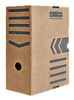 Архивный бокс Бокс для архивации документов 150 мм JOBMAX Buromax BM.3262-34 крафт (BM.3262-34(крафт) x 96867)