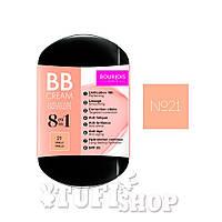 Тональный крем Буржуа BB Cream 8 in 1 №21 - Vanilla, 6 г (Гьь12019648)
