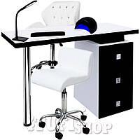 Маникюрный кабинет (набор мебели) light - черно-белый