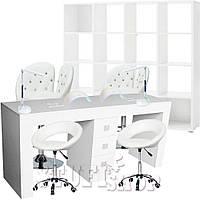Маникюрный кабинет (набор мебели) White - белый