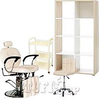 Косметологический кабинет (набор мебели) Сream - молочно-бежевый