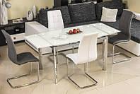 Стеклянный стол GD-020 раскладной  (Signal)
