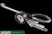 Пистолет для подкачки шин с манометром NEO 12-544