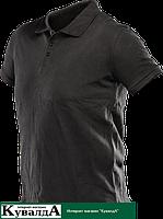 Футболка-поло NEO Tools 81-605 черного цвета, размер XXL/58