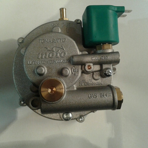 Газовий редуктор tomasetto AT10 moto