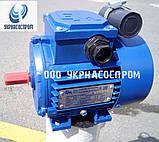 Однофазный электродвигатель 0,75 кВт 1500 об/мин АИРУТ71А4, фото 4
