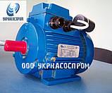 Однофазный электродвигатель 0,75 кВт 1500 об/мин АИРУТ71А4, фото 3