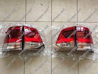 Задние диодные фонари Toyota LC 200 (Стиль 2016 года)