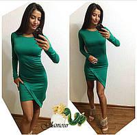 Платье француз изумруд