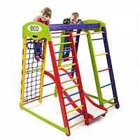 Детский спортивный комплекс раннего развития для дома ТМ SportBaby Акварелька Plus 1