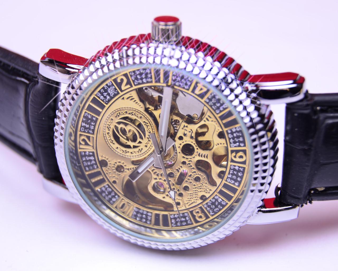 Наручные часы Слава с автоподзаводом (скелетоны), фото 1