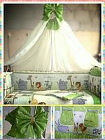Набор в детскую кроватку Африка, фото 1