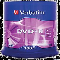 Диски Диск Verbatim DVD-R, 4,7Gb 16 Cake (100), d.033541 (d.033541 x 94660)