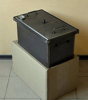 Коптильня с гидрозатвором для горячего копчения B с термометром
