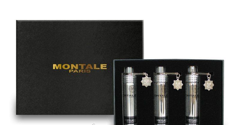 Подарочный набор унисекс Montale Greyland (Монталь Грэйленд) 3*20 мл
