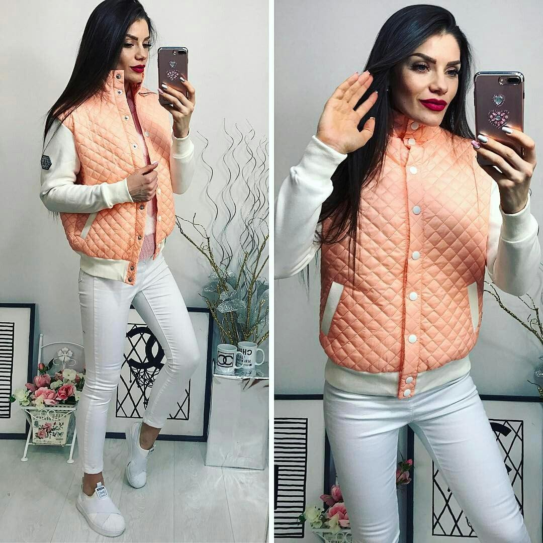Куртка женская, модель 773, персик