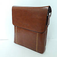 Мужская сумка через плечо brown