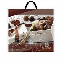 Пакет пластиковая ручка Шоколад 36,5*33 10шт/уп