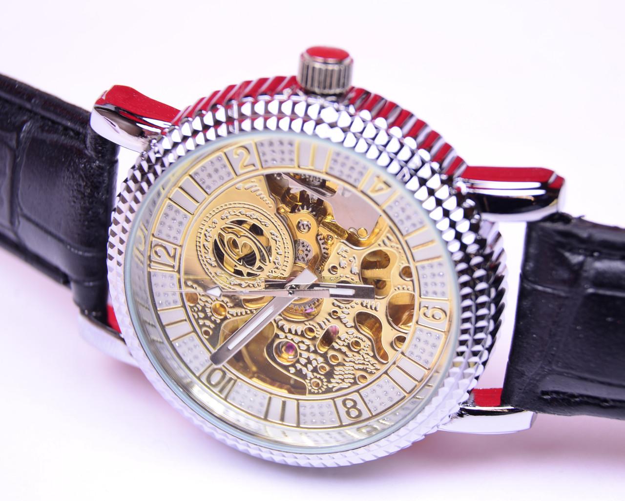 Наручные часы Слава с автоподзаводом (скелетоны)