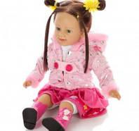 Говорящая кукла Танюша TG1048054: 62 см, USB-разъём, подарочная упаковка, питание от батареек