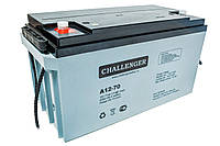 Свинцово-кислотный аккумулятор CHALLENGER A12-75