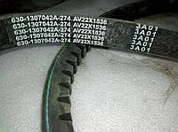 Ремень генератора двигателя YC6108 630-1307042A 22х1450