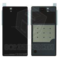 Задняя панель корпуса для Sony C6602 L36h Xperia Z, черная