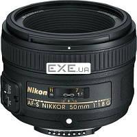 Объектив Nikkor AF-S 50mm f/ 1.8G Nikon (JAA015DA)